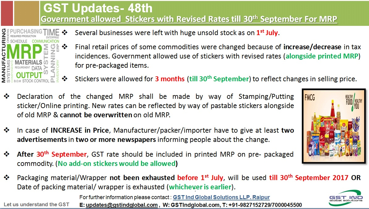 GST Updates-... Reverse Charge Mechanism In India